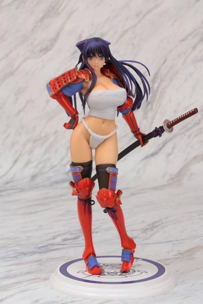 Die reizende Statue von Akane Ryuzoji aus dem Videospiel ´Walkure Romanze More & More´ im Maßstab 1/6 ist etwa 27 cm groß und wurde aus PVC gefertigt. Sie wird inklusive Base geliefert.