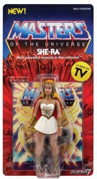 Aus Super7's Masters of the Universe Vintage Collection -Reihe kommt diese großartige Actionfigur. Sie ist ca. 14 cm groß und wird auf einer Blisterkarte geliefert.