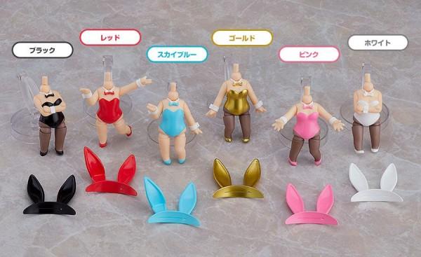 Detailreiches Zubehörset für alle Nendoroid Actionfiguren.Das Set enthält sechs Bunny Kostüme für Nendoroid Figuren.Hinweis: Die Produktbilder zeigen lediglich Anwendungsbeispiele, es sind keine Figuren in diesem Set enthalten!