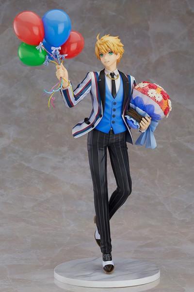 """Zum Videospiel """"Fate/Grand Order"""" kommt diese detailreiche PVC Statue im Maßstab 1/8. Sie ist ca. 26 cm groß und wird mit Base in einer Fensterbox geliefert."""