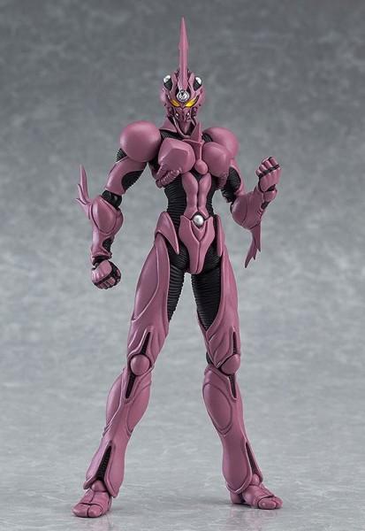 Zum Anime ´Guyver - The Bioboosted Armor´ kommt diese detailreiche Actionfigur von Guyver. Sie ist ca. 15 cm groß und wird mit jeder Menge Zubehör geliefert. Max Factorys Figma-Reihe besticht durch eine exzellente Verarbeitung und volle Beweglichkeit, die