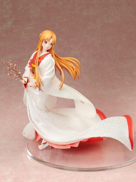 """Zur Anime-Serie """"Sword Art Online: Alicization"""" kommt diese detailreiche PVC Statue im Maßstab 1:7. Sie ist ca. 23 cm groß und wird mit Base in einer Fensterbox geliefert."""