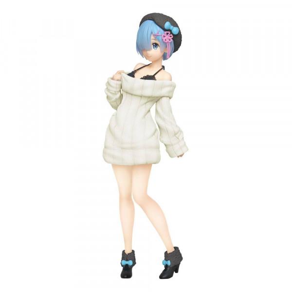 """Zur Light-Novel-Reihe """"Re:Zero"""" kommt diese aufregende Statue aus PVC. Sie ist ca. 23 cm groß und wird in einer bedruckten Box geliefert."""