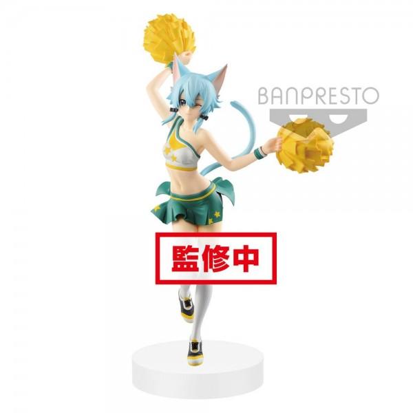 Zum Videospiel Sword Art Online: Memory Defrag kommt diese detailreiche PVC Statue. Sie ist ca. 23 cm groß und wird mit Base geliefert.