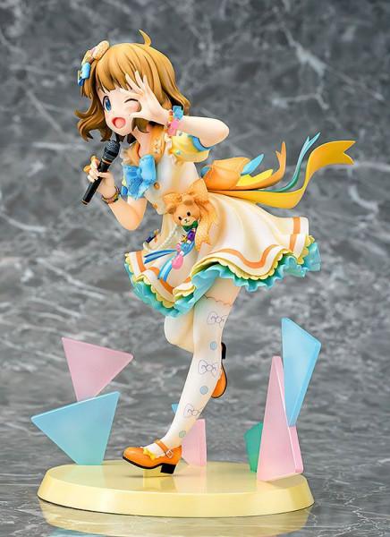 """Zum Videospiel """"The Idolmaster: Million Live!"""" kommt diese detailreiche PVC Statue im Maßstab 1:7. Sie ist ca. 19 cm groß und wird mit Base in einer Fensterbox geliefert."""
