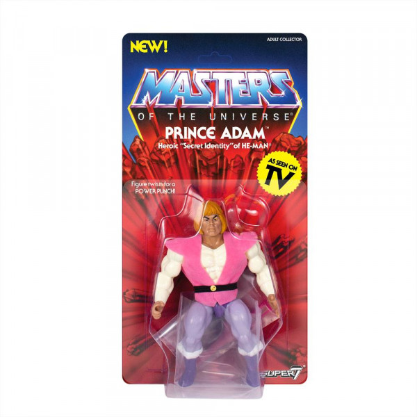 """Aus Super7's """"Masters of the Universe Vintage Collection"""" -Reihe kommt diese großartige Actionfigur. Sie ist ca. 14 cm groß und wird mit weiterem Zubehör auf einer Blisterkarte geliefert."""