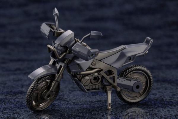 """Aus Kotobukiyas hauseigener Mecha-Reihe """"Hexa Gear"""" kommt dieses Plastic Model Kit.<br /><br />Zusammengebaut ist es ca. 10 cm groß. Es verfügt über diverse Artikulationspunkte und Austauschteile."""