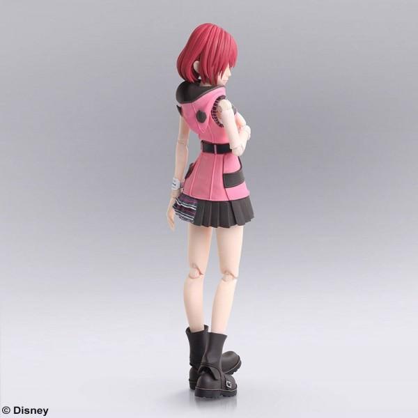 """Aus Square Enix' beliebter """"Bring Arts""""-Reihe kommt diese hochwertige Actionfigur zum Videospiel """"Kingdom Hearts III"""". Sie ist ca. 14 cm groß und wird mit weiterem Zubehör und austauschbaren Teilen in einer Fensterbox geliefert."""