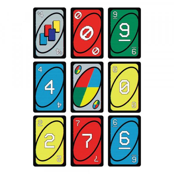 """Mit dieser Serie, die jedes Jahrzehnt seit den 1970ern bis heute ehrt, feiert das beliebte Kartenspiel UNO fünfzig Jahren Spielspaß! Es wird wie das klassische UNO gespielt und wer nur noch eine Karte hat, muss laut """"UNO!"""" rufen. <br /><br />- Anzahl Spie"""