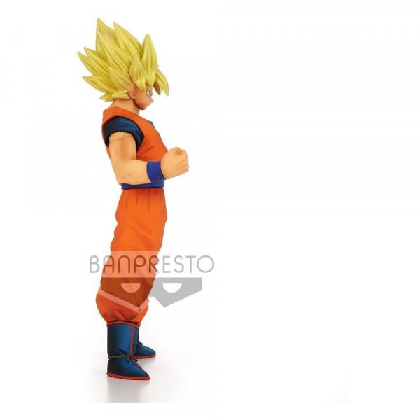 """Zur Manga/Anime-Reihe """"Dragon Ball Z"""" kommt diese detailreiche PVC Statue. Sie ist ca. 16 cm groß und wird inkl. Base in einer bedruckten Box geliefert."""