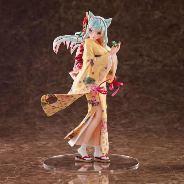 Aus der ´Original Character´ Reihe kommt diese aufreizende PVC Statue im Maßstab 1:8. Sie ist ca. 23 cm groß und wird in einer Fensterbox geliefert.
