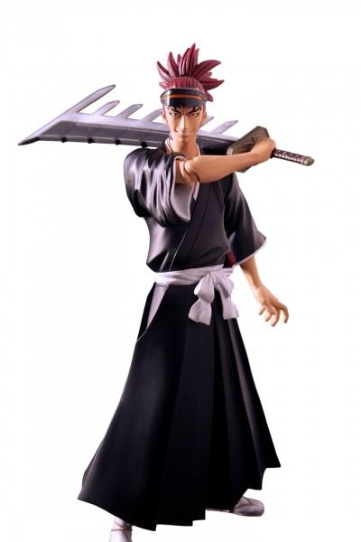 """Zur Manga/Anime-Serie """"Bleach"""" kommt diese detailreiche PVC Statue. Sie ist ca. 15 cm groß und wird in einer bedruckten Box geliefert."""