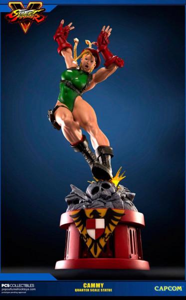 Pop Culture Shock präsentiert diese herausragende Statue von Cammy aus dem Videospiel ´Street Fighter V´! Diese hochwertige Polystone-Statue ist ca. 71 cm groß und wird mit Echtheitszertifikat, styropor-geschützt, im bedruckten Karton geliefert. Weltweit