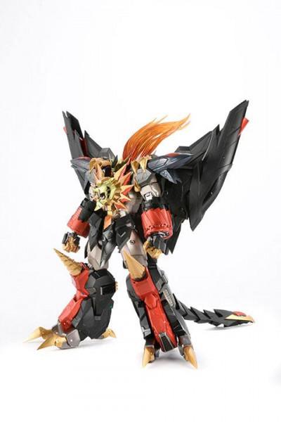 Zur Anime-Serie ´The King of Braves GaoGaiGar Final´ kommt diese großartige und voll bewegliche Actionfigur aus Metall. Sie verfügt üner eine eingebaute LED Leuchtfunktion.<br /><br />Die Figur ist ca. 24 cm groß und kommt mit weiterem Zubehör.