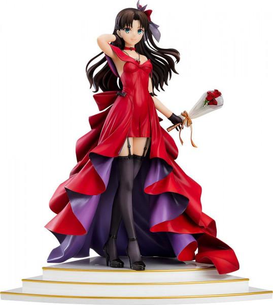Fate/Stay Night Statue 1/7 Rin Tohsaka 15th Celebration Dress Ver. 25 cm