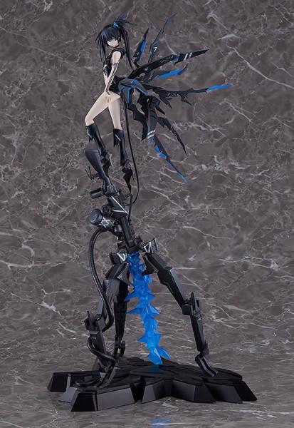 Zum Anime ´Black Rock Shooter´ kommt diese detailreiche PVC Statue im Maßstab 1:8. Sie ist ca. 46 cm gross und wird mit Base in einer Fensterbox geliefert.<br /><br />Sie verfügt über eine eingebaute Leuchtfunktion welche durch einen integrierten USB-Ansc