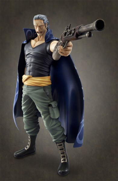 One Piece Excellent Model P.O.P DX PVC Statue 1/8 Ben Beckman 28 cm