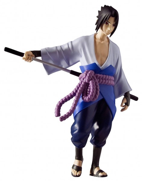 """Zur Manga/Anime-Serie """"Naruto Shippuden"""" kommt diese detailreiche PVC Statue. Sie ist ca. 15 cm groß und wird in einer bedruckten Box geliefert."""