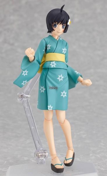 Nisemonogatari Actionfigur / Figma Tsukihi Araragi 14 cm