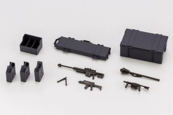 """Aus Kotobukiyas hauseigener Mecha-Reihe """"Hexa Gear"""" kommt dieses Zubehör-Set für alle """"Model Kits""""."""