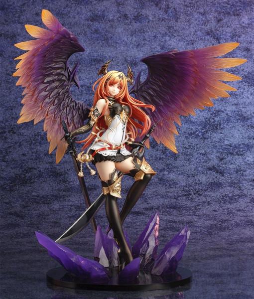 Kotobukiya präsentiert in der ´Ani Statuen´-Serie eine Reihe beliebter Anime-Schönheiten! <br /><br />Die aus PVC gefertigte Statue von Dark Angel Olivia kommt im Maßstab 1/8 und ist ca. 31 cm groß.<br /><br />Geliefert wird die aufreizende Statue inkl. B