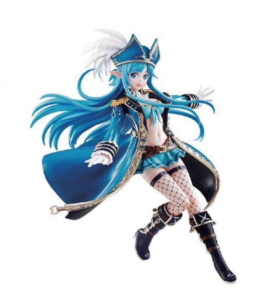 """Aus Bandai's """"Ichibansho""""-Reihe kommt diese offiziell lizenzierte PVC Statue. Sie ist ca. 17 cm groß und wird in einer Fensterbox geliefert."""