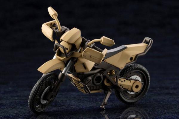 """Aus Kotobukiyas hauseigener Mecha-Reihe """"Hexa Gear"""" kommt dieses Plastic Model Kit.Zusammengebaut ist es ca. 10 cm groß. Es verfügt über diverse Artikulationspunkte und Austauschteile."""