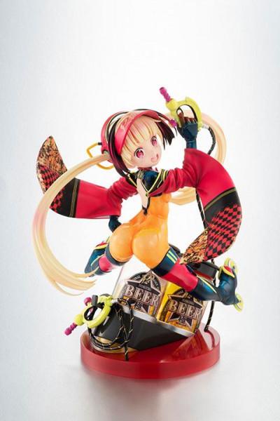 Zur Anime-Serie ´Death Ball´ kommt diese detailreiche PVC Statue von Mituka im Maßstab 1:7. Sie ist ca. 19 cm groß und wird mit Base in einer Fensterbox geliefert.