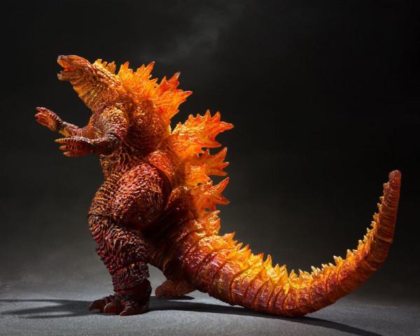 Godzilla: King of the Monsters 2019 S.H. MonsterArts Actionfigur Burning Godzilla 16 cm --- BESCHAED