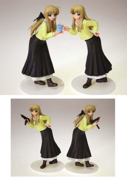 FUTAKOI ALTERNATIVE - Sara & Soju Shirogane 2er Set PVC