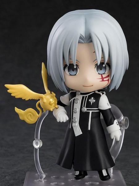 Zum Anime ´D.Gray-man´ kommt diese detailreiche Actionfigur im ´Nendoroid´-Design. Sie ist ca. 10 cm groß und wird mit Base geliefert.