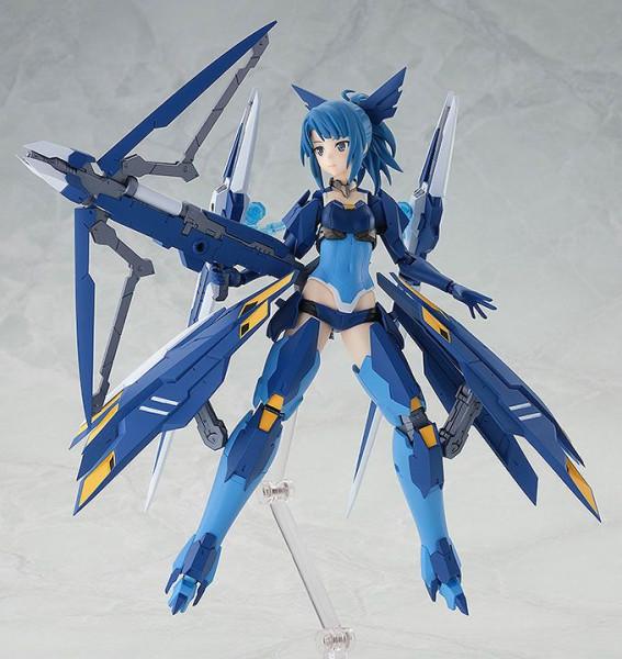 Zum japanischen Handyspiel `Alice Gear Aegis´ kommt diese detailreiche Actionfigur. Sie ist ca. 14 cm groß und wird mit jeder Menge Zubehör geliefert. Max Factorys Figma-Reihe besticht durch eine exzellente Verarbeitung und volle Beweglichkeit, die es erl