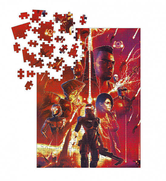 - Offiziell lizenziertes Puzzle<br />- 1000 Teile<br />- Größe: 69 x 51 cm