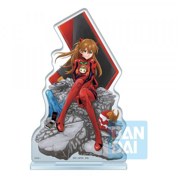 """Aus Bandai's """"Ichibansho""""-Reihe kommt diese detailreiche Acryl Figur aus dem Anime Film """"Evangelion: 3.0 + 1.0"""". Sie ist ca. 20 cm groß."""