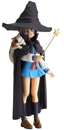 Revoltech Fraulein The Melancholy of Haruhi Suzumiya Yuki Nagato Witch Action Figur